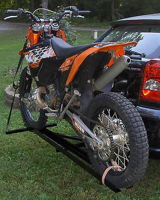 "DIRT BIKE MOTORCYCLE CARRIER FOR 1 1/4"" HITCH... trailer hauler rack cargo"
