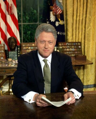 US PRESIDENT BILL CLINTON 8X10 GLOSSY PHOTO PICTURE IMAGE #3