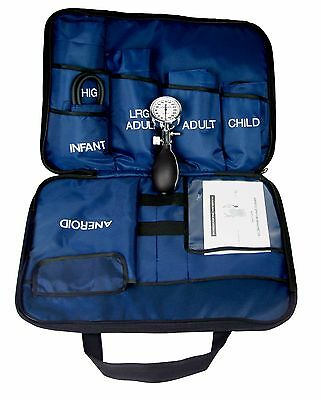 Dixie EMS 5 Cuff Blood Pressure Aneroid Kit System - Infant,