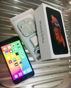 IPhone 6s Plus 64gb space grey box & extras