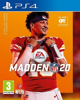 Madden NFL 20 (PS4) Brand New & Sealed UK PAL Free UK P&P