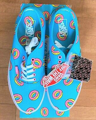 Vans X Odd Future Scuba Blue Donut Golf Wang Supreme Syndicate 10.5 PIN & LACES