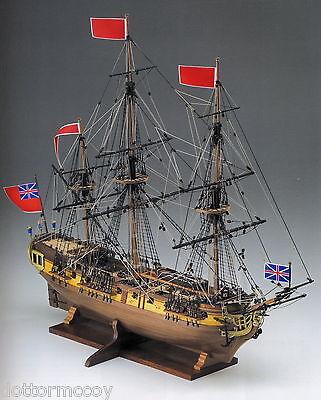 COREL SM59 BARCA Modello Nave VELIERO FREGATA inglese HMS GREYHOUND scala 1:100