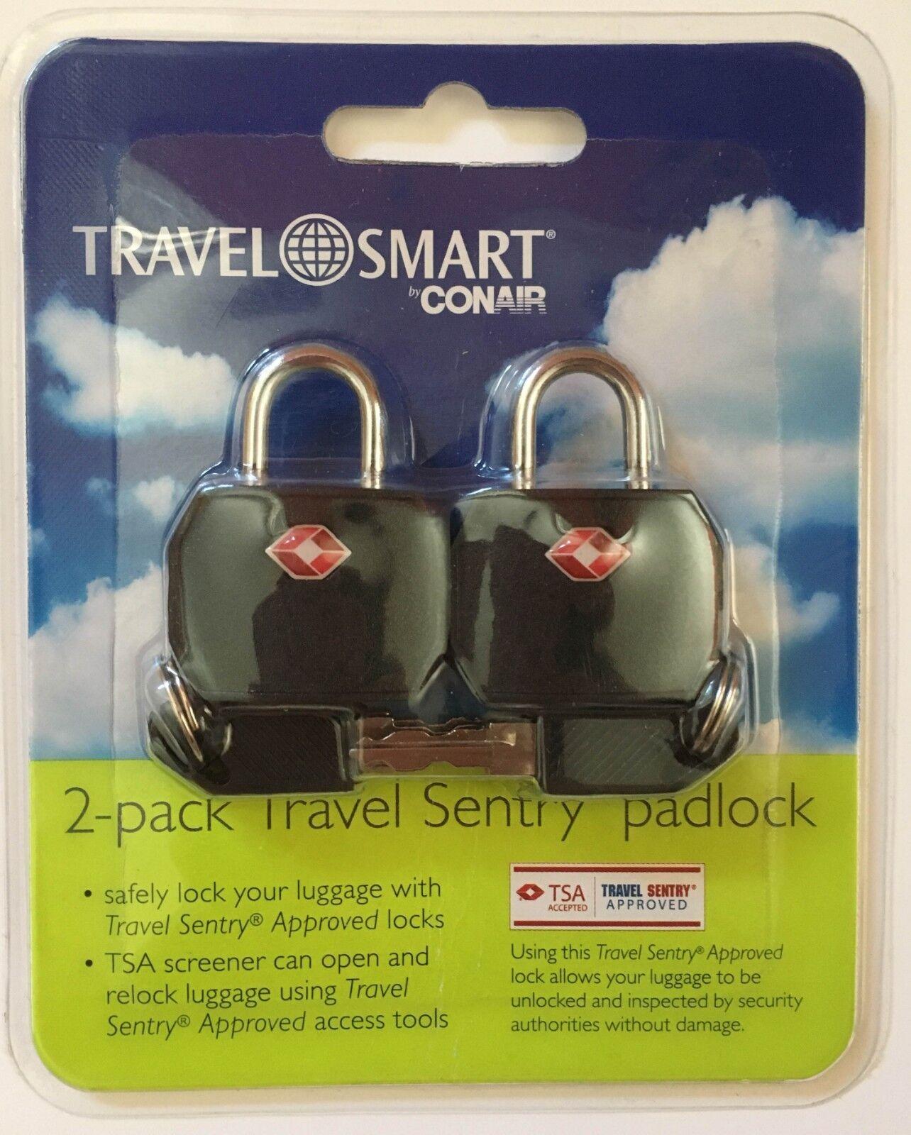 travel smart 2 pack travel sentry padlock