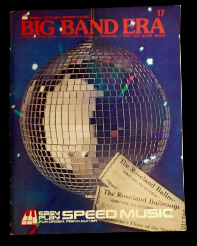 Easy To Play speed Music Big Band Era 17 for Organ, Piano, Guitar