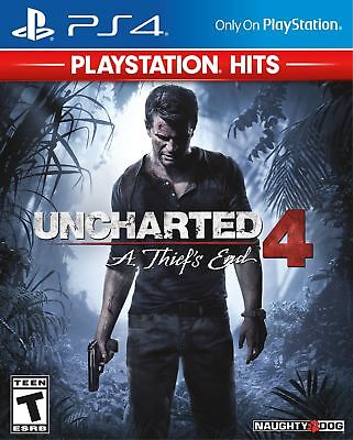 NEW Uncharted 4: A Thief