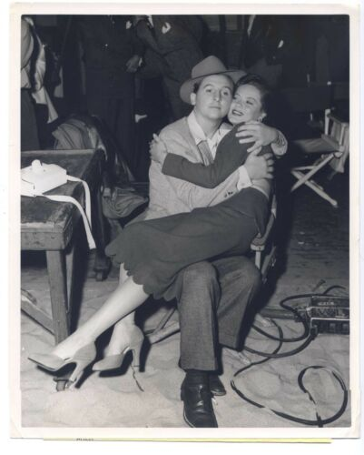 Dona Drake 1949 The Girl From Jones Beach Original 8x10 Eddie Bracken CANDID