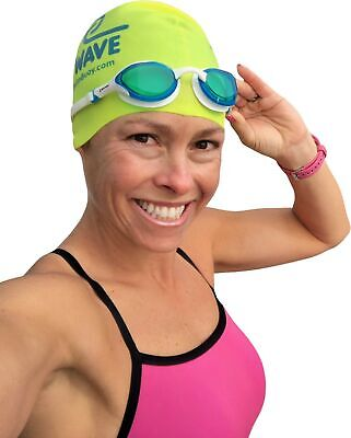 New Wave Fusion 2.0 Swim Goggles for Triathlon & Open Water Swimming - Blue (Goggles For Open Water Swimming)