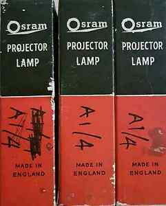 Osram a1/4 12v 100w projector lamp new in box Scarborough Redcliffe Area Preview