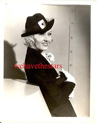 Vintage Evelyn Knapp CHIC FASHION BEAUTY 30s Publicity Portrait