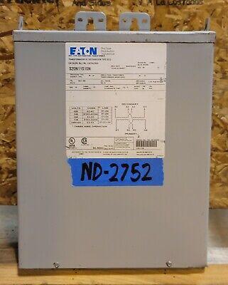 Eaton 10kva Transformer 1 Single Phase 480v240v-240v120v Delta 3r Wall Mount