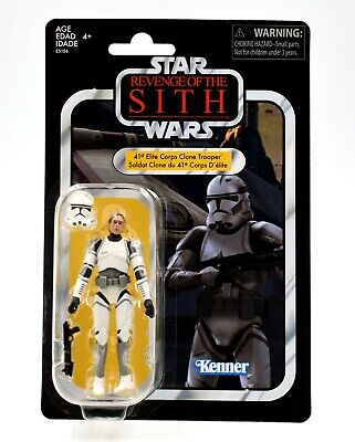 Star Wars The Vintage Collection - 41st Elite Corps Clone Trooper Action Figure