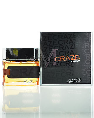 Armaf Craze for Men Eau de Parfum 3.4 oz 100 ml Spray NIB