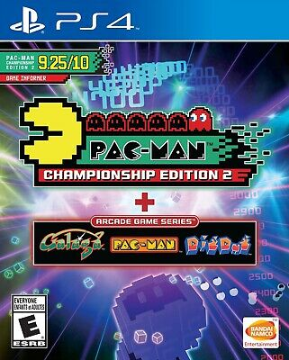 Pac-Man Championship Edition 2 + Arcade Game Series (PS4, PlayStation 4, 2016)