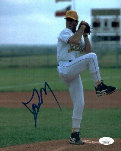 DENNIS QUAID Signed THE ROOKIE 8x10 Jimmy Morris IN PERSON Autograph JSA COA
