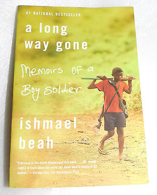 Long Way Gone Memoirs Boy Soldier Ishmael Beah PB Child Fighter Government Army