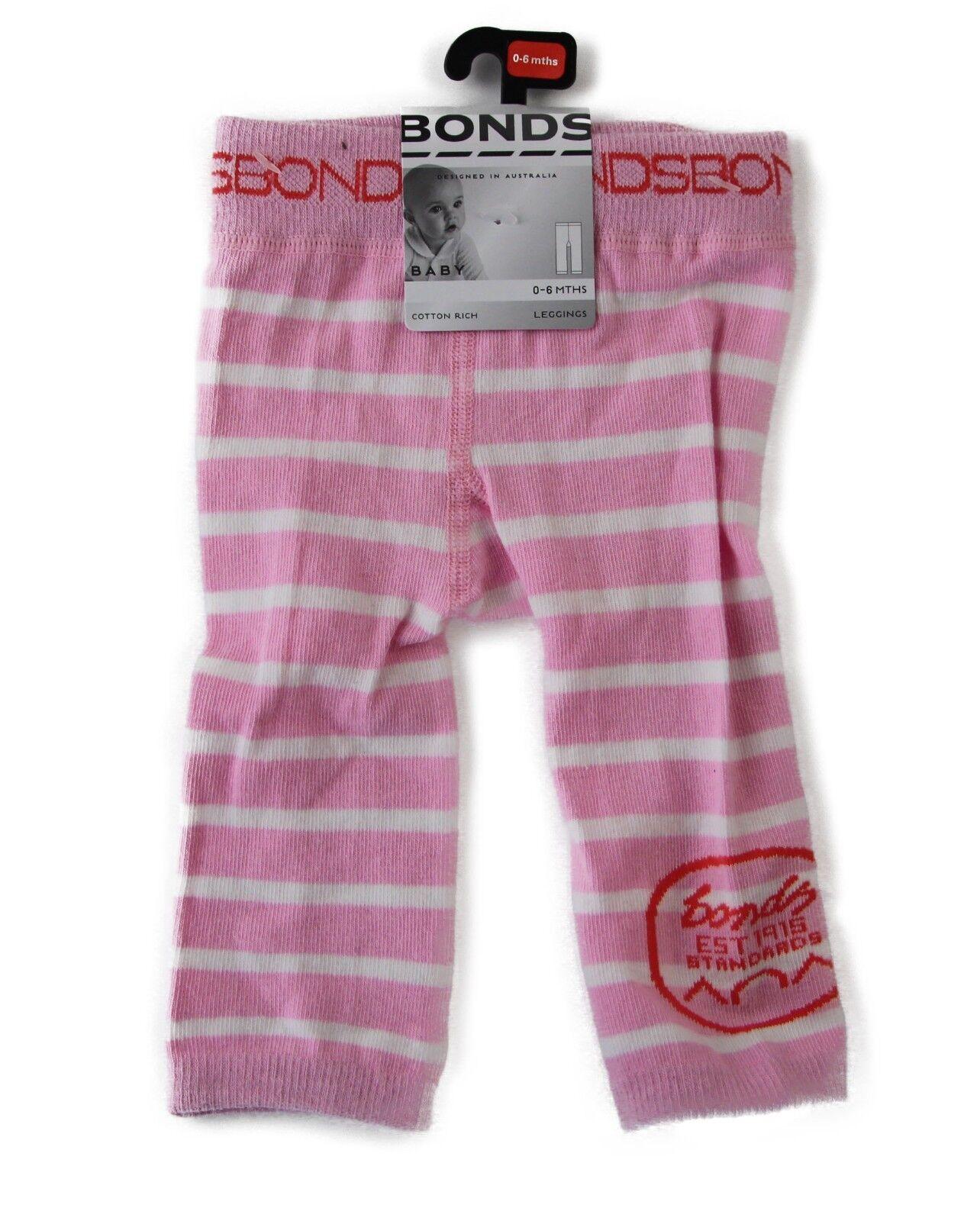 f55abbc35 BONDS BABY CLASSICS LEGGING Leggings NAVY / PINK / GREY Boy Girl ...