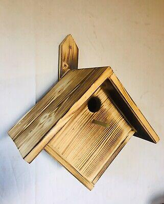 handgeschnitzter Vogel Wildlife Garden Holz Kleiber