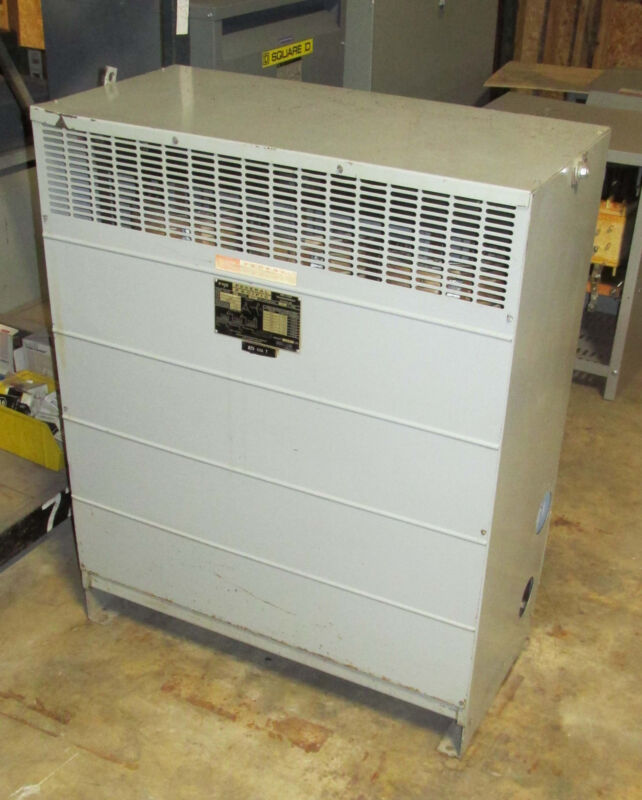 Federal Pacific 225 KVA Transformer 480-208Y/120 3 phase Serial # 27530-004