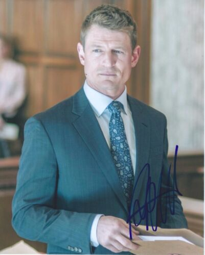 Philip Winchester Signed Autographed 8x10 Photo Chicago Justice PD Strike Back F