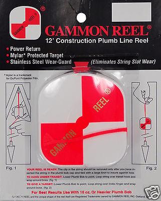 New 12 Foot Gammon Reel #012
