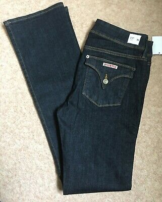 Ladies Hudson Midrise Beth Blue Baby Boot  jeans size 30