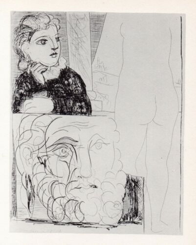 Pablo Picasso, The Maid in the Sculpture Studio, Vollard Suite