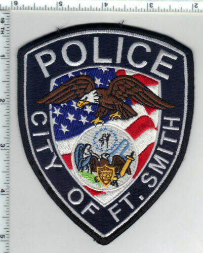 City of Fort Smith Police (Arkansas) 3rd Issue Shoulder Patch