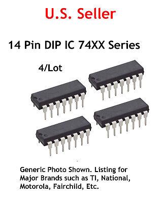 7426 Ttl 14 Pin Dip Ic Quad 2-input Nand Gate 15v 0c 4lot