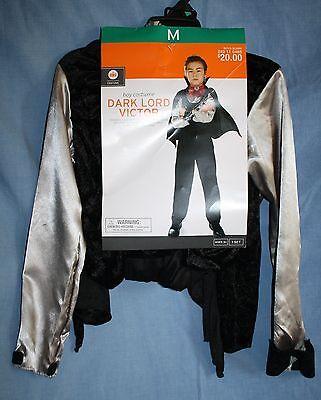 Target Halloween Costumes Boys (Target Halloween Costume DARK LORD VICTOR Boys 6-8 Cape Pants Shirt Black)