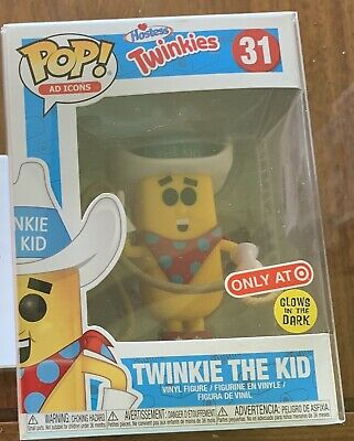 Funko Pop! Hostess Twinkie The Kid Target #31 Hostess Twinkies Glow in the Dark