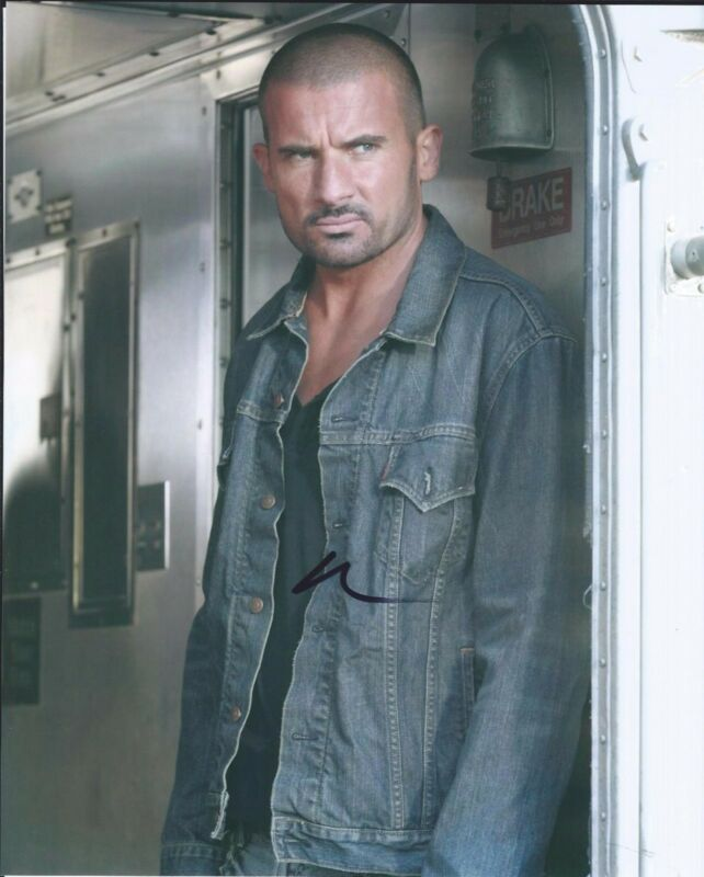 Dominic Purcell Signed Autographed 8x10 Photo The Flash Prison Break E