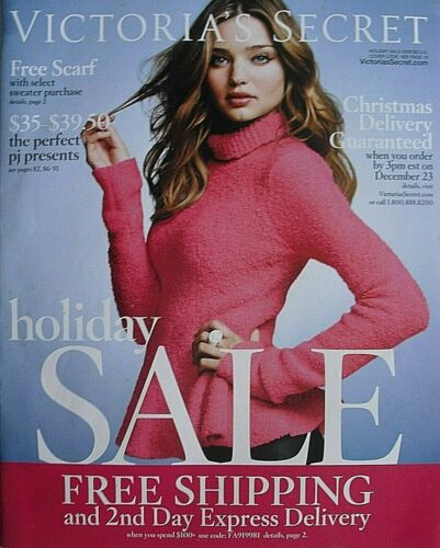 MIRANDA KERR Holiday Sale 2009 VICTORIA