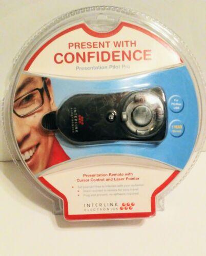 New Interlink Electronics Presentation Pilot Pro. Remote + Laser Pointer VP6450