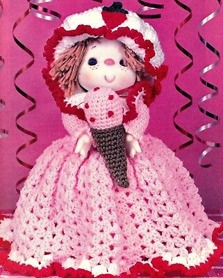 - DELICIOUS Strawberry Sherry Doll/Toy/Crochet Pattern INSTRUCTIONS ONLY