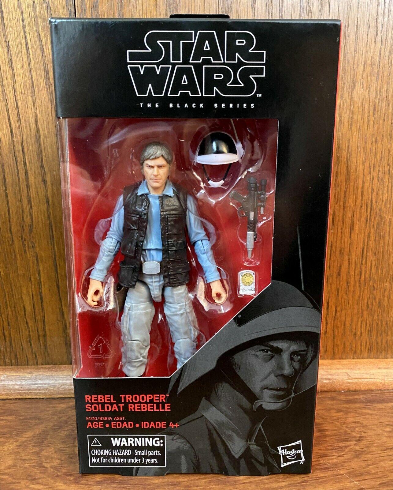 """Star Wars Authentic Black Series 6/"""" Inch #69 Rebel Fleet Trooper Loose Complete"""