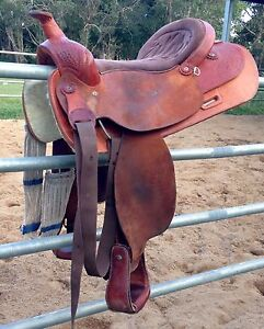 Western saddle Bellmere Caboolture Area Preview