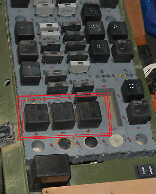LMTV PDU POWER PANEL DIODE MODULE 12418342 5961-01-375-0478 M1078 M1088  M1083