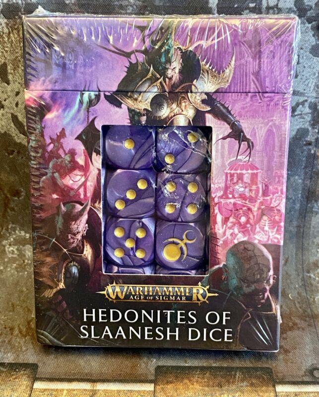 Warhammer 40K / AOS  Sigmar Hedonites of Slaanesh Dice Set