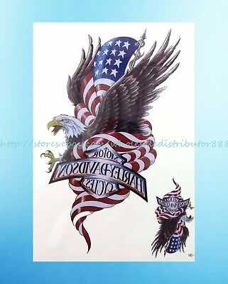 - American flag eagle 8.25