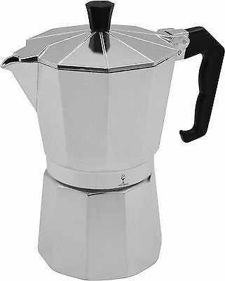 6 Cup Italian Style Stove Top Coffee Percolator, Maker