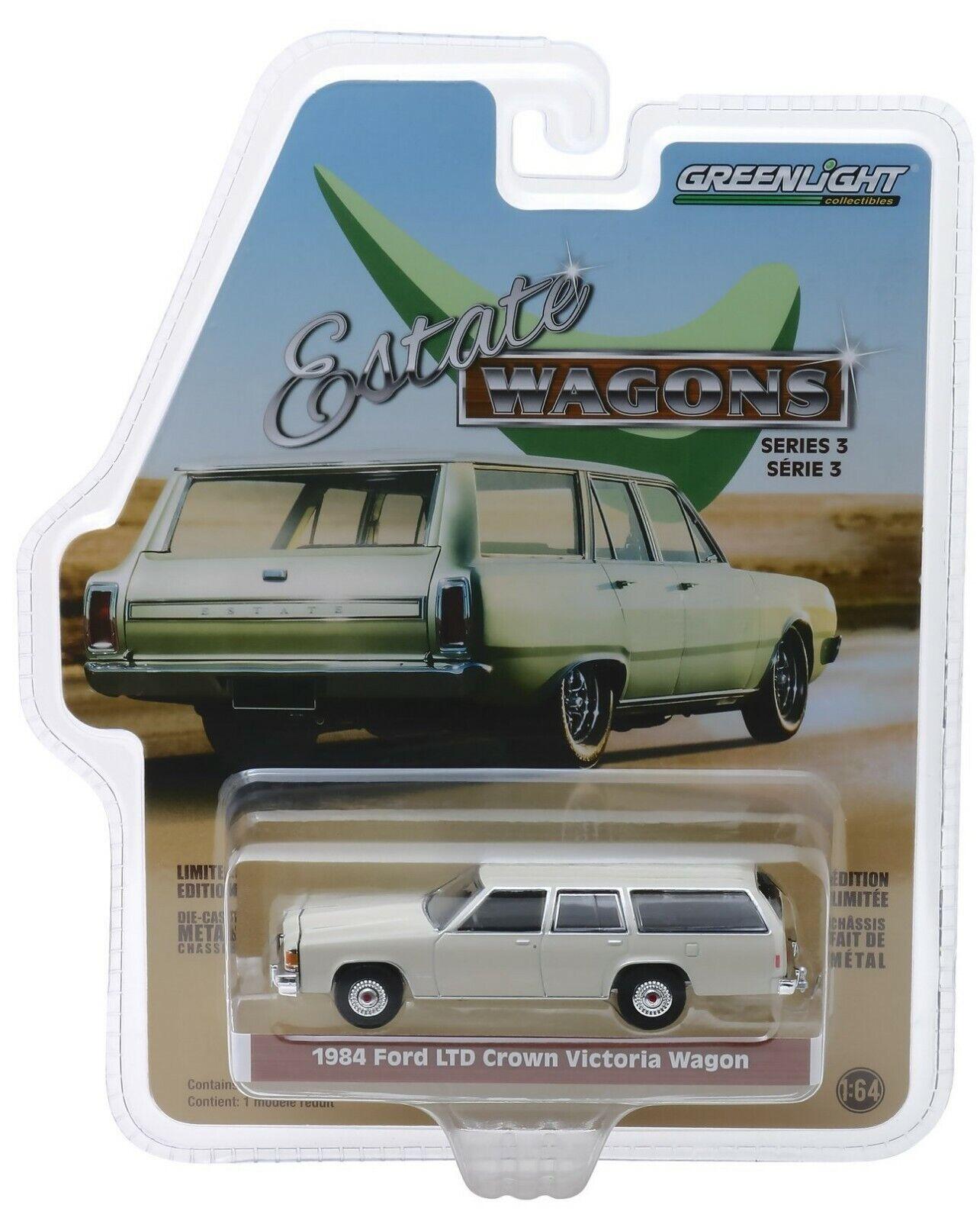 Greenlight 1984 Ford LTD Crown Victoria Wagon in Pastel Dese