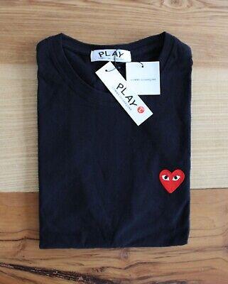 Comme des Garçons Red Heart T Shirt. Size Medium. Uk Seller