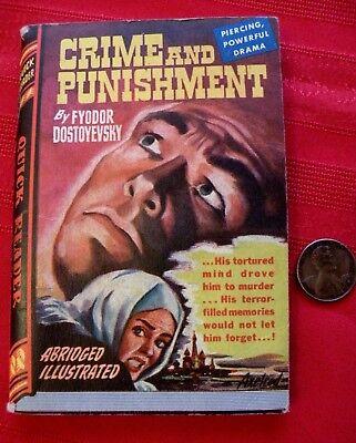 Cool 1944 Crime   Punishment Dostoyevsky Miniature Book Quick Reader  114 Royce