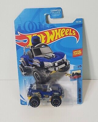 HOT WHEELS 2017 CAR DIECAST COLLECTION 135/250 BOGZILLA  MALAYSIA
