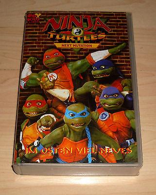 VHS - Ninja Turtles - Next Mutation - Im Osten viel Neues - Videokassette