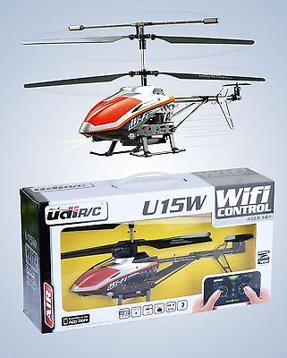 RC U15W Koaxial Hubschrauber WiFi iPhone - iPad gesteuert Helikopter Helicopter (Hubschrauber I Phone)