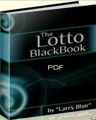 The Lotto Blackbook  How To Win The Lottery   Secrets Revealed Pdf Ebook