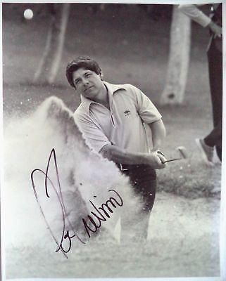 TREVINO LEE 1971 & 72 OPEN GOLF CHAMPION ORIGINAL AUTOGRAPHED GOLF PHOTOGRAPH