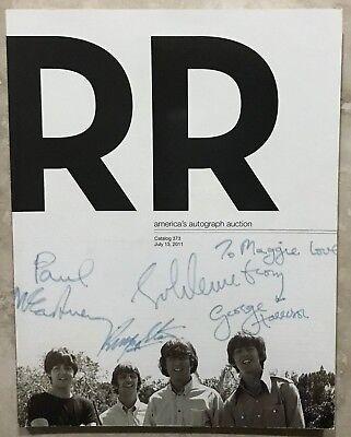 RR AUCTION CATALOG THE BEATLES, HISTORICAL,NASA SPACE, SPORTS, ENTERTAINMENT ++